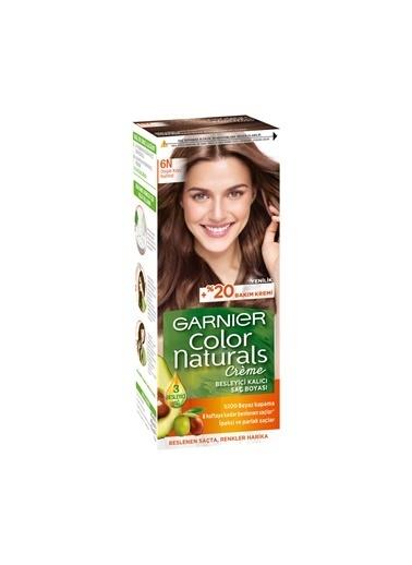 Garnier Garnier Color Naturals Saç Boyası 6N Doğal Koyu Kumral Renksiz
